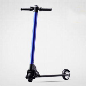 Ce Approved Portable LED Light Electric Scooter pictures & photos
