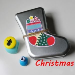 Christmas Tin Box for Socks pictures & photos