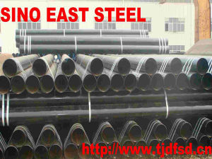 API 5L Psl1 Gr. B/X52/X60/X65/X70 Seamless Pipe Made in China pictures & photos