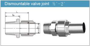 Dismountable Valve Joint