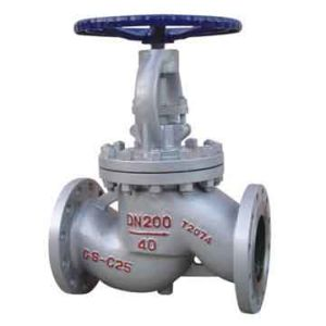 DIN Cast Steel Flanged Globe Valve