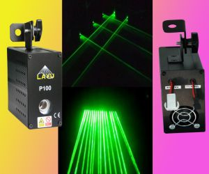100 MW Green Laser Curtain for Disco (P100)