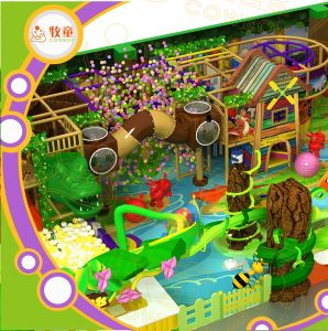 Forest Themed Indoor Playground for Fun pictures & photos
