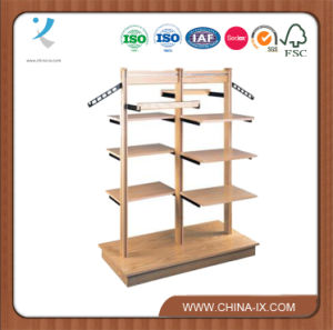Wooden Cloth Display Racks Furniture for Cloth Store pictures & photos