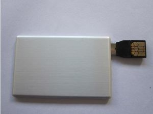 Portable Cheapest Custom Aluminum Credit Card USB Drive (OM-P510) pictures & photos