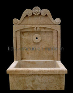 Wall Fountain, Antique Stone Carving (XF465) pictures & photos