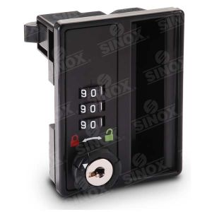 3 Dial Resettable Combination Locker Lock pictures & photos