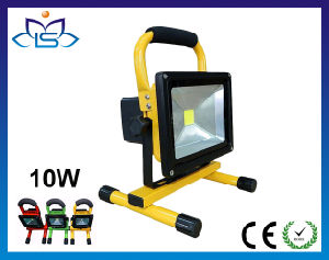 10W 20W 30W 50W Epistar SMD Portable Rechargeable LED Floodlight Flood Light with CE RoHS
