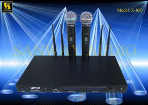 Microphone Audio System K-820 pictures & photos