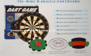 Blade Edge Bristle Dartboard (D-02)