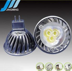 Aluminum Spotlight 3*1W GU10 Gu5.3