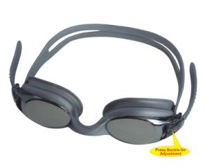 One-Piece Silicone Swimming Goggles (G8200E)