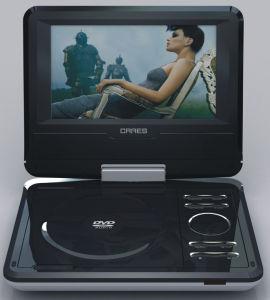 Portable DVD PLAYER (TK-PD705)