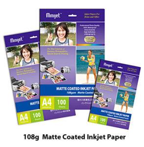 128g Matte Coated Inkjet Photo Paper