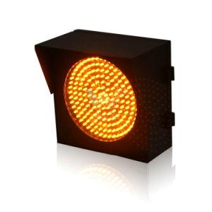 High Way Toll Station 200mm LED Yellow Warning Light pictures & photos
