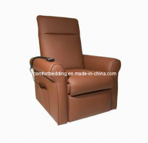 Electric Recliner/Lift Massage Chair, Genuine Leather (Comfort-11) pictures & photos