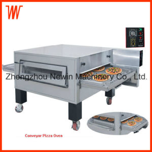 120-180 PCS/H Far-Infrared Hot Air Electric Conveyor Pizza Oven Sale pictures & photos