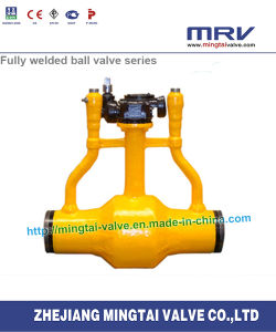 Gas Exhausted Fully Welded Ball Valve