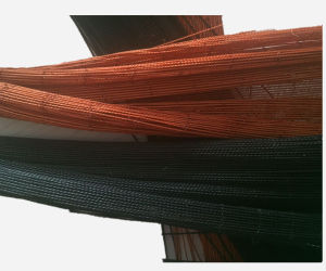 2000d/3 Black Color Tyre Cord Fabric pictures & photos