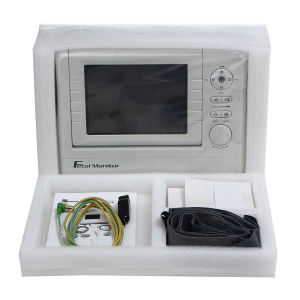Hot Sale 12.1 Inch Foldable Color LCD Fetal Maternal Monitor pictures & photos
