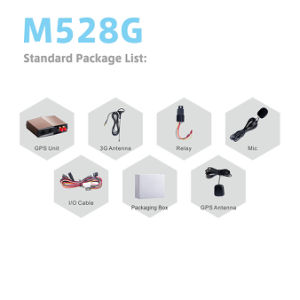 3G Automotive GPS Tracker Car with Microphone Voice Monitoring pictures & photos