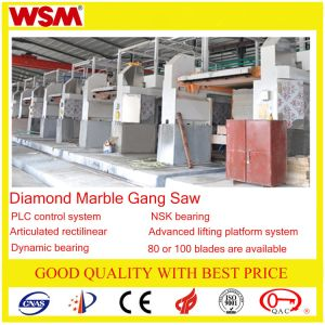 Gang Saw for Marble Block Cutting 100/800 pictures & photos