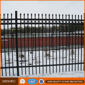 Low Price Galvanized Garden Steel Fence pictures & photos