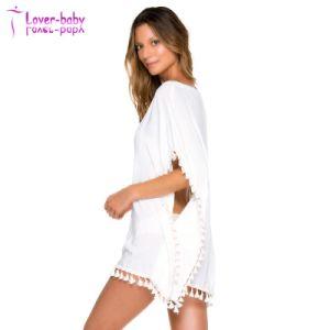 Latest Fashion Designer Sexy Beachwear New Kaftan Dress Short pictures & photos