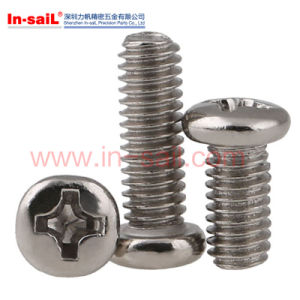 High Quality Eyeglass Hinge Screws with Cross Slot pictures & photos