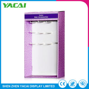 Custom Connect Floor Paper Cardboard Cosmetic Display Stand pictures & photos