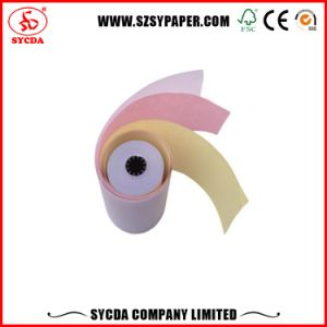 58GSM Carbonless Paper NCR Paper Rolls pictures & photos