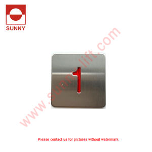 Elevator Push Button for Kone Size 34.5*34.5 (SN-PB210) 12V 24V 48V pictures & photos