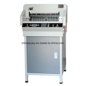 Byon-Professional Manufacturer Digital Control Paper Cutter Paper Cutting Machine (BYON-4806K) pictures & photos