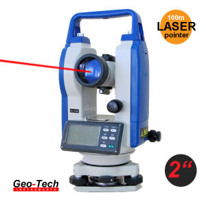 Laser Theodolite Surveying Equipment Electronic Theodolite (GTH-02L) pictures & photos