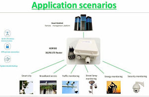 M2m 3G/4G Lte Wireless Ethernet Outdoor Router/CPE with SIM Card Slot pictures & photos