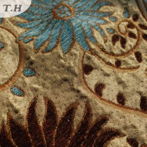 Jacquard Chenille Upholstery Sofa Cover Fabric Design pictures & photos
