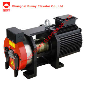 Elevator Gearless Belt Traction Machine Sn-Fxpd100, Lift Motor pictures & photos