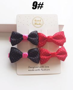 Wholesale Fashion Baby Hair Accessories Bowknot Hair Clip Hairpin pictures & photos