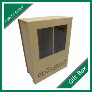 Rigid Paper Gift Box with Silk Ribbon pictures & photos