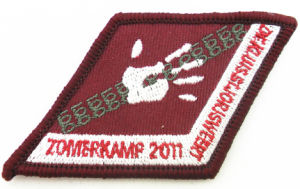Custom Iron on Embroidery Flower Patches Wholesale pictures & photos