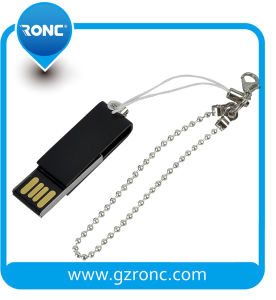 Real Capacity 32GB Metal Universal USB Flash Drive with Keychain pictures & photos