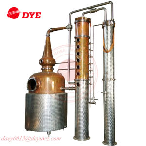 Whiskey and Gin Column Still Copper Distillery Machine for Sale pictures & photos