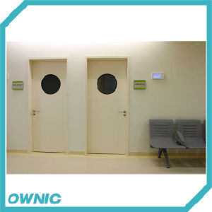 Hot Selling Steel Air Tight Interior Hospital Door pictures & photos