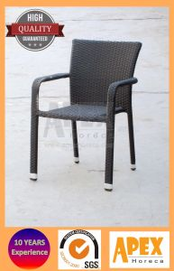 Garden Rattan Dining Arm Chair Outdoor Furniture Wicker Chair pictures & photos