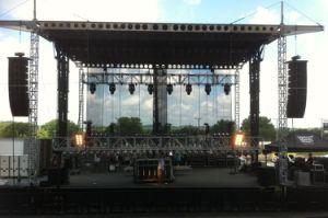 Passive PRO Concert Speakers Design Dual 15 Inch Speakers pictures & photos