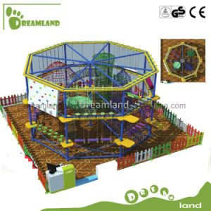 New Style Amusement Park Indoor and Outdoor Adventure Rope Course pictures & photos