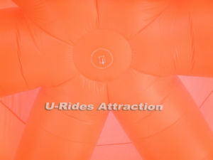12m Diameter Orange color Inflatable Spider Tent for Party Use can be OEM pictures & photos