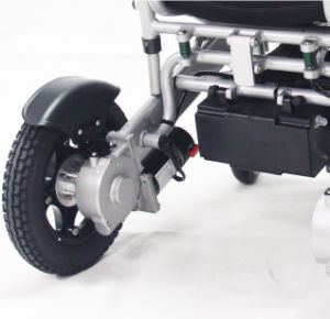 Ce SGS Medical New Product Foldable Light Power Drive Electric Wheelchair pictures & photos