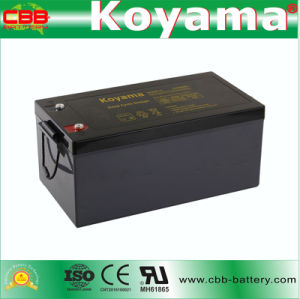 DC260-12 12V 260ah Deep Cycle Battery pictures & photos