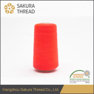 Sakura Oeko-Tex Reasonable Price 100% Core Spun Polyester Sewing Thread pictures & photos